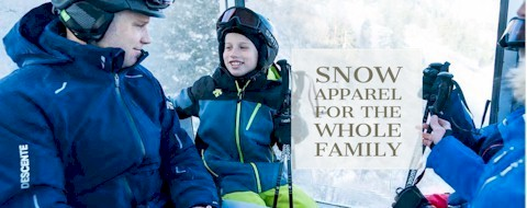 Shop men's, womens and kids ski wear and snow outerwear from brands like Descente, Obermeyer, The North Face, Helly Hansen and more.